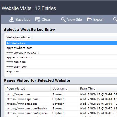 Spytech SpyAgent Spy Software - Computer Monitoring Software